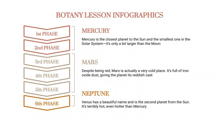 Botany Lesson Infographics presentation template