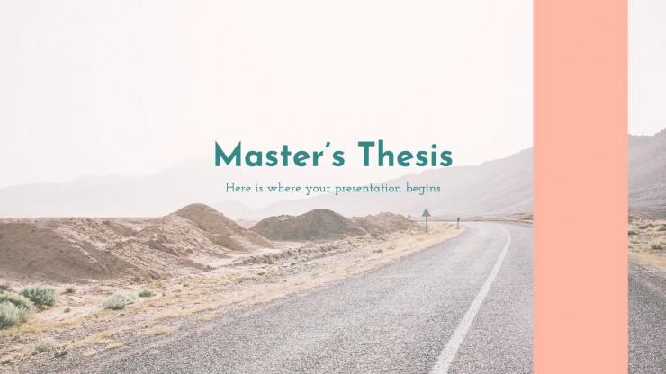 Modelo de apresentação Dissertação de mestrado