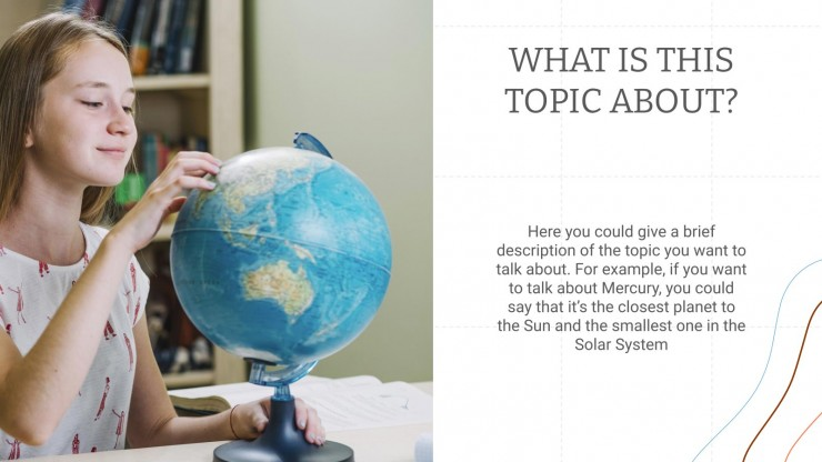 Earth Science: Geography presentation template