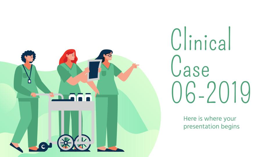 Cas clinique 06-2019 : Modèles de présentation