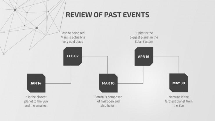 Plantilla de presentación Newsletter de tecnología