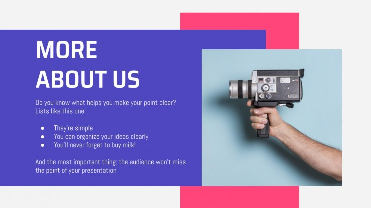 Video Production Agency presentation template