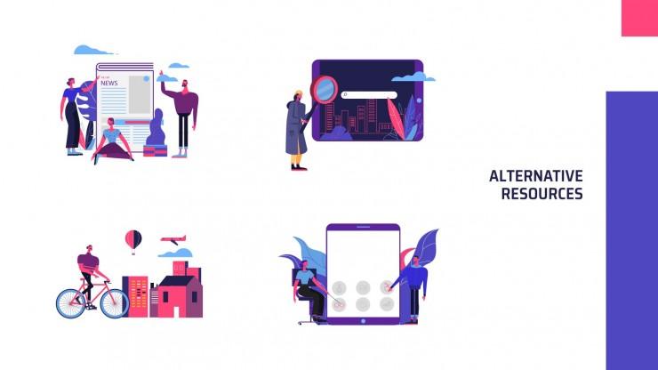 Plantilla de presentación Productora audiovisual