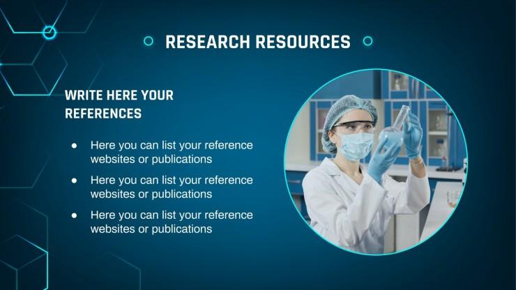 Plantilla de presentación Investigación sobre las células