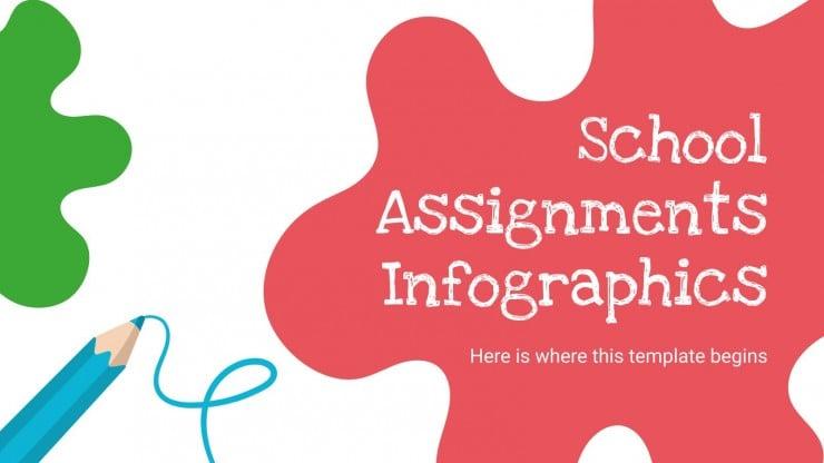 School Assignments Infographics