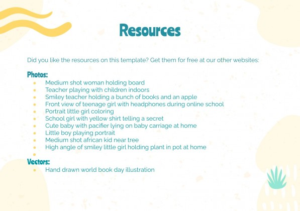 Journée de la crèche : Modèles de présentation