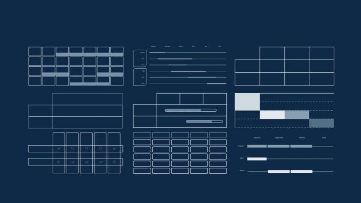 Arrière-plan simple de tableau noir : Modèles de présentation