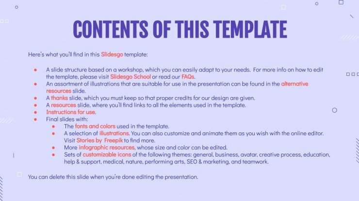 Preparing Your First CV presentation template