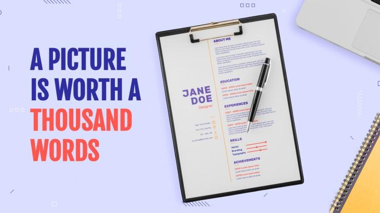Modelo de apresentação Como preparar seu primeiro CV