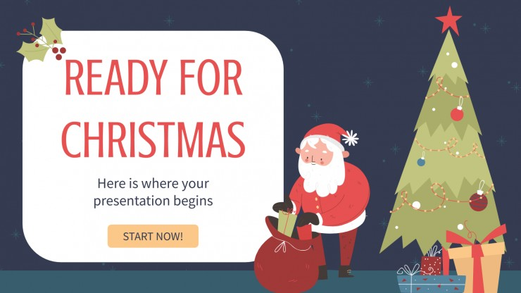 Prêts pour Noël : Modèles de présentation