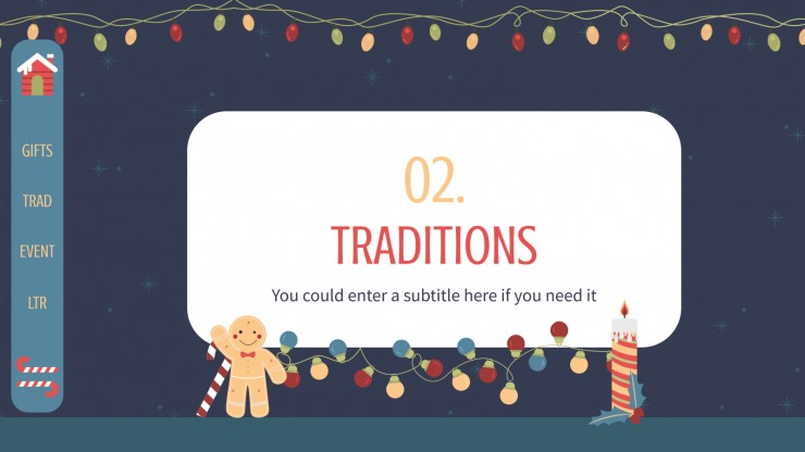 Ready for Christmas presentation template