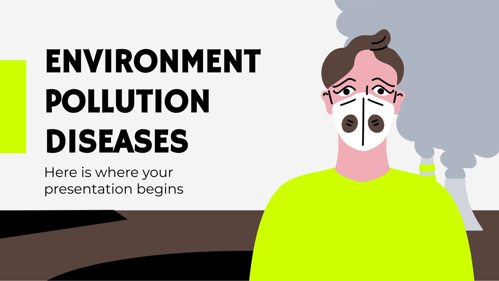 Environment Pollution Diseases presentation template