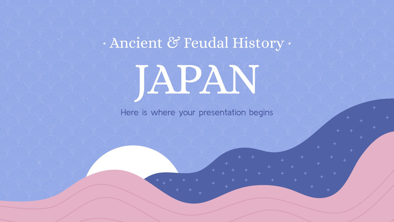 Ancient & Feudal History: Japan presentation template