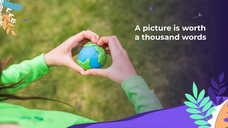 Modelo de apresentação Dia Internacional da Mãe Terra