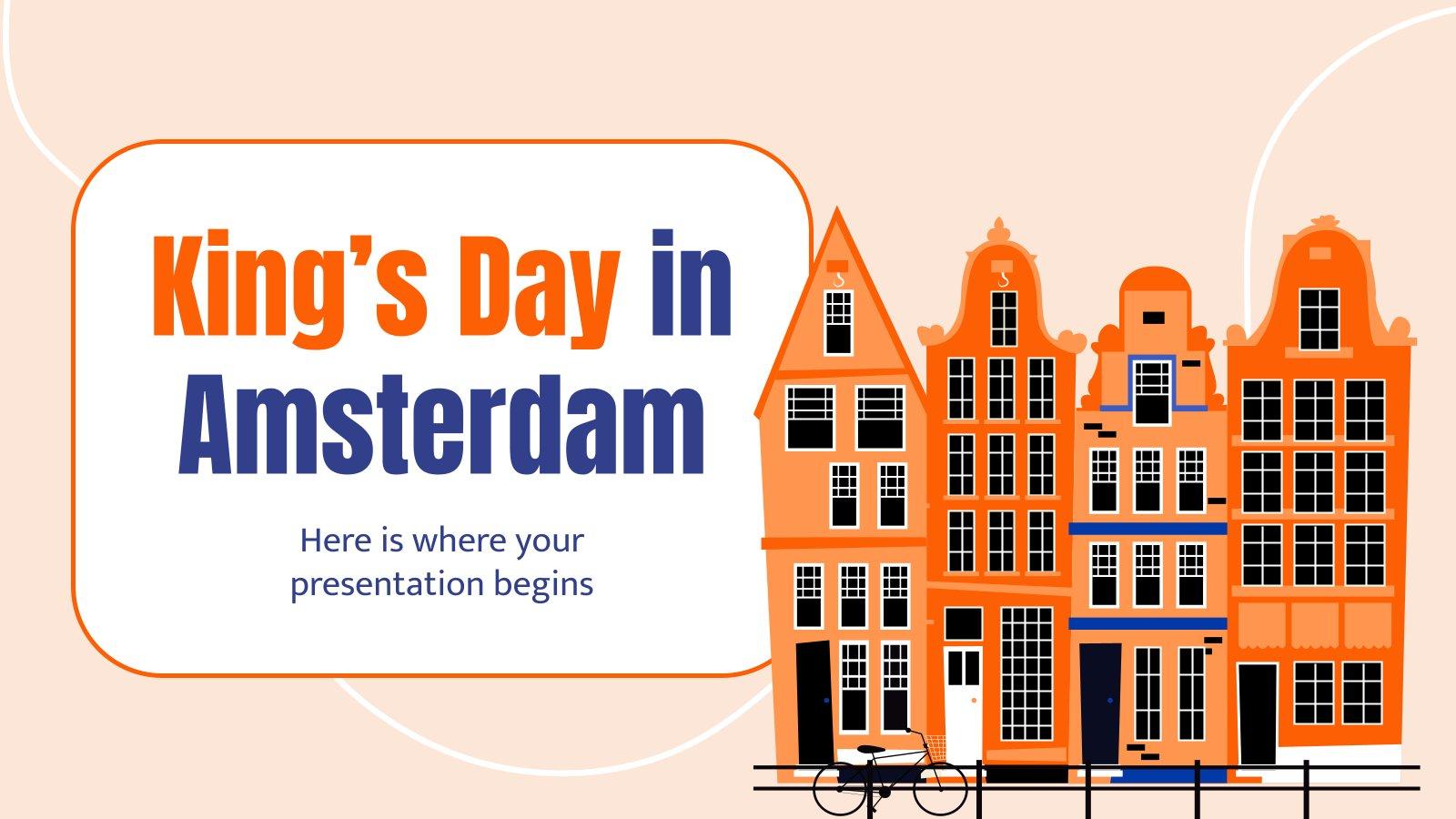 Jour du Roi à Amsterdam : Modèles de présentation
