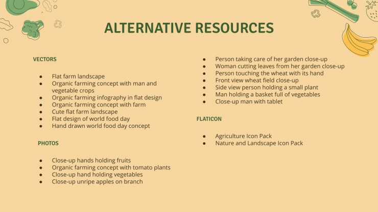 Agriculture Business Plan presentation template