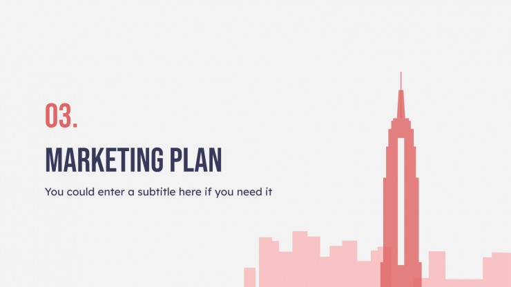 Architecture Firm Business Plan presentation template