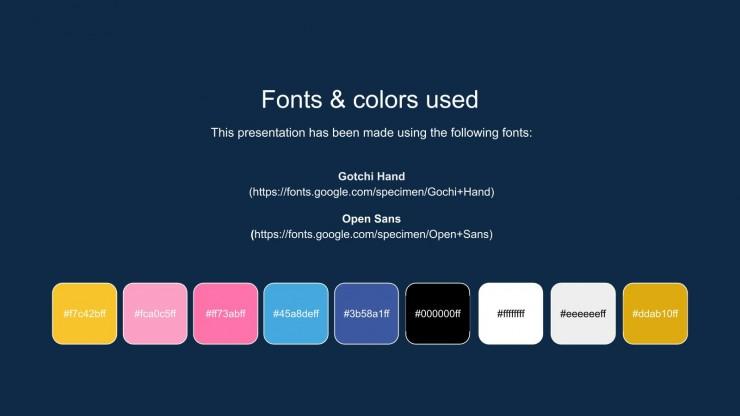 Cours sur les couleurs : Modèles de présentation