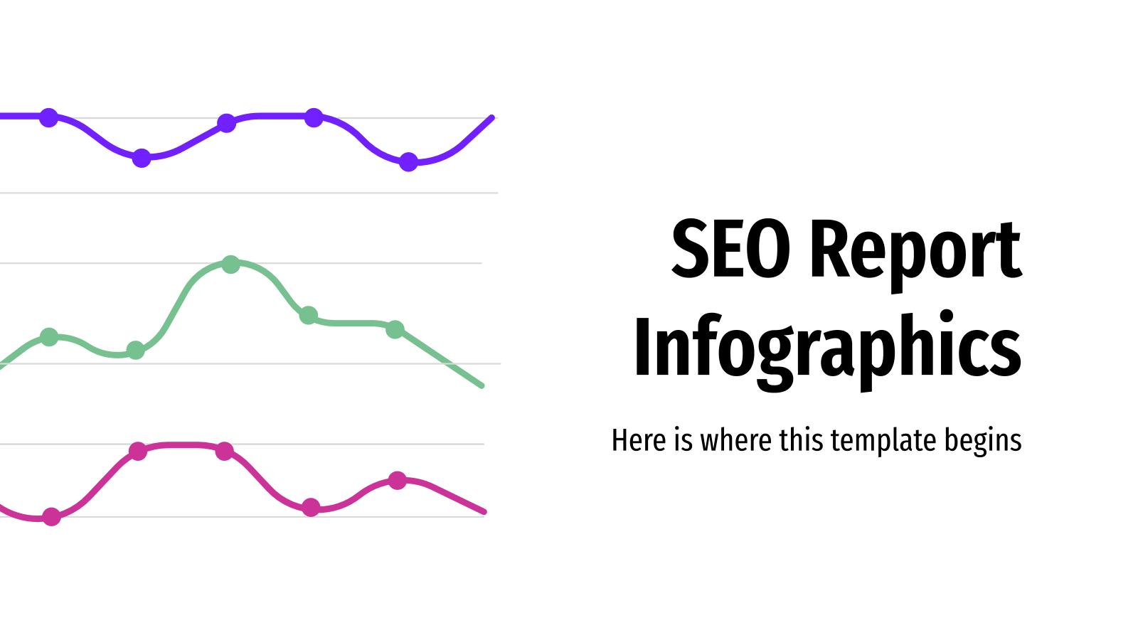 Infographies de rapport SEO : Modèles de présentation