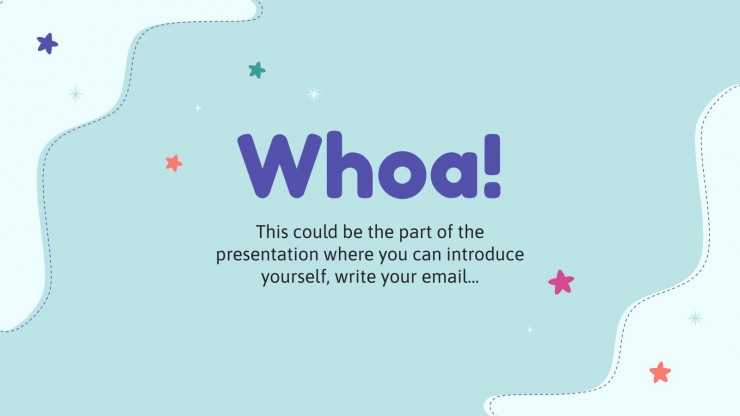 Tell a Story Day presentation template