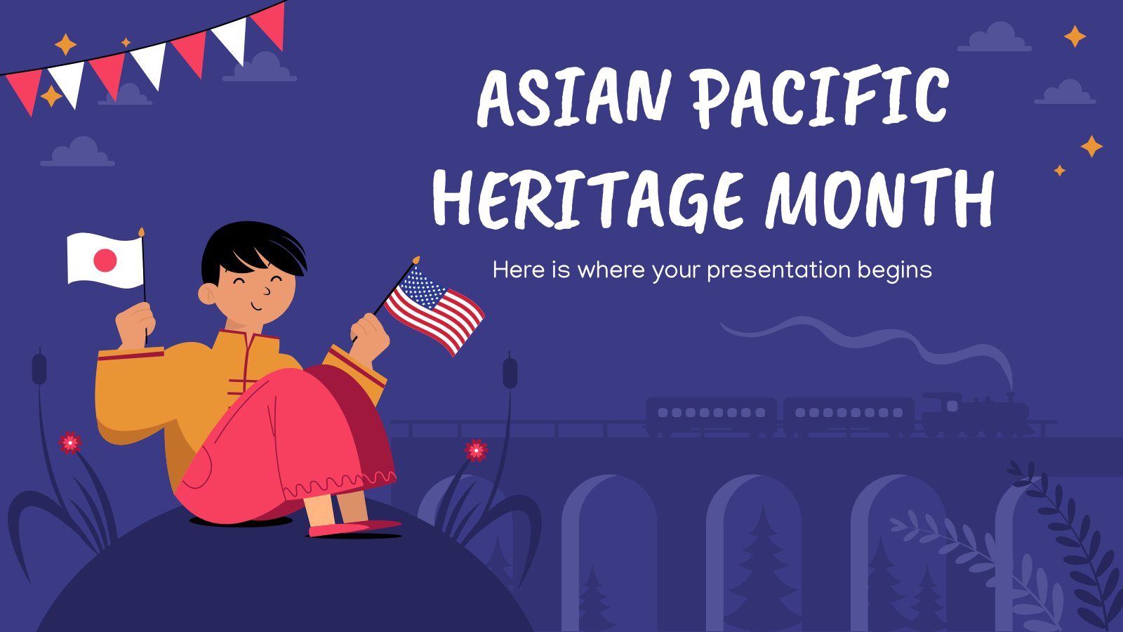 Asian Pacific Heritage Month presentation template