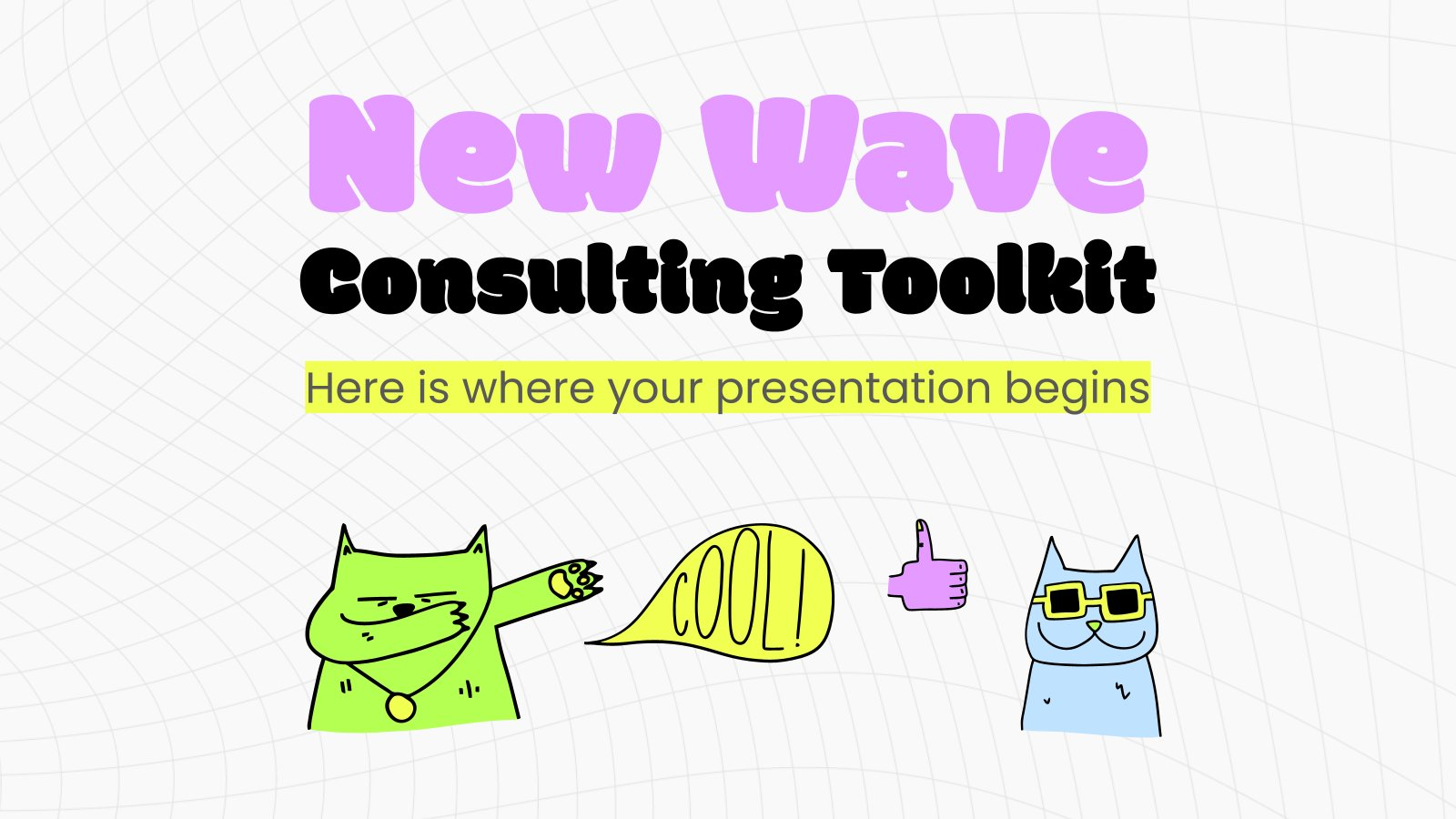 New Wave Consulting Toolkit presentation template