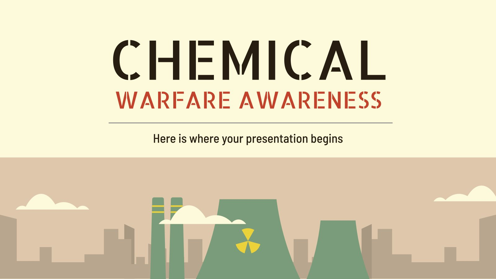 Chemical Warfare Awareness presentation template