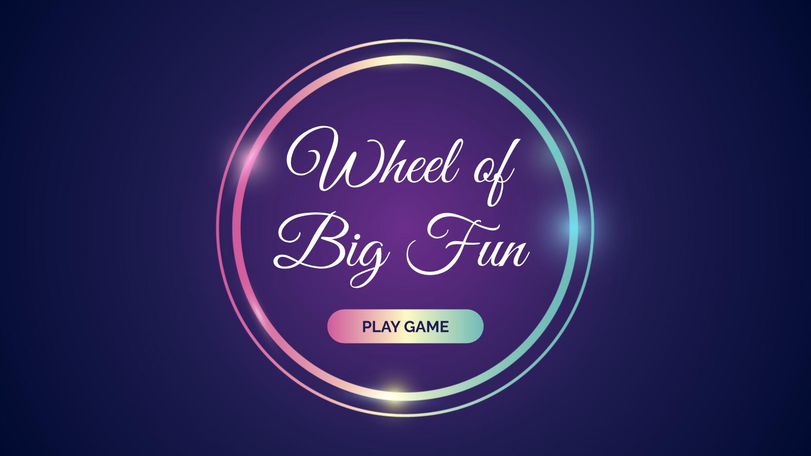 La roue de la chance : Modèles de présentation
