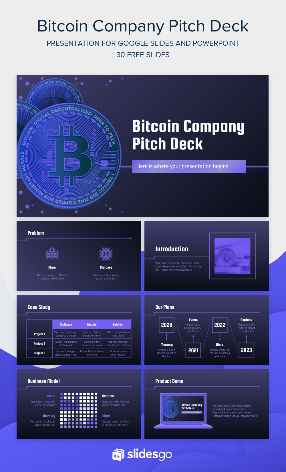bitcoin pitch deck