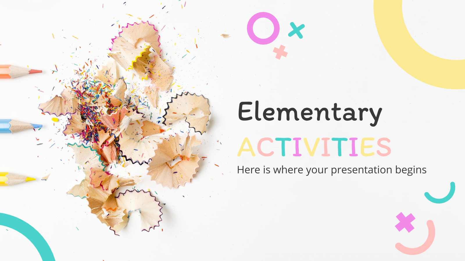 Activités pour la primaire : Modèles de présentation
