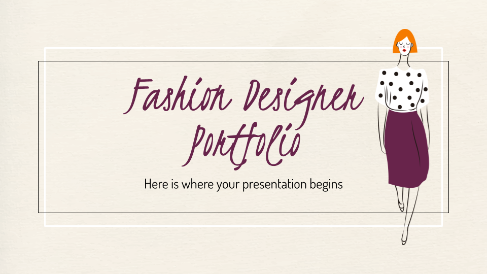 Free Fashion Google Slides Themes And Powerpoint Templates
