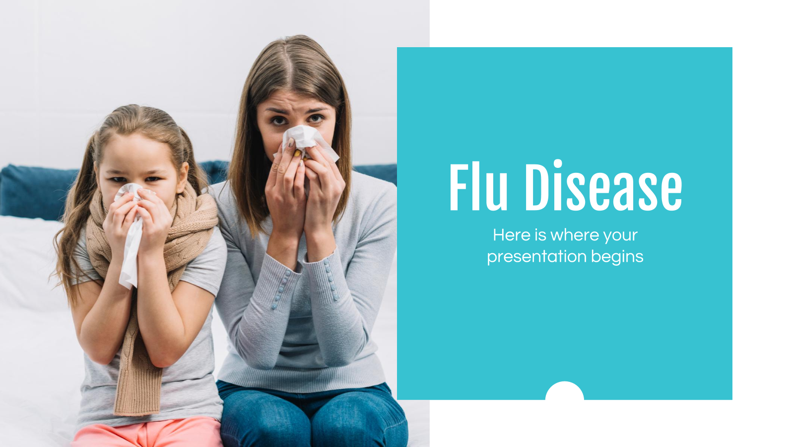 Flu Disease presentation template
