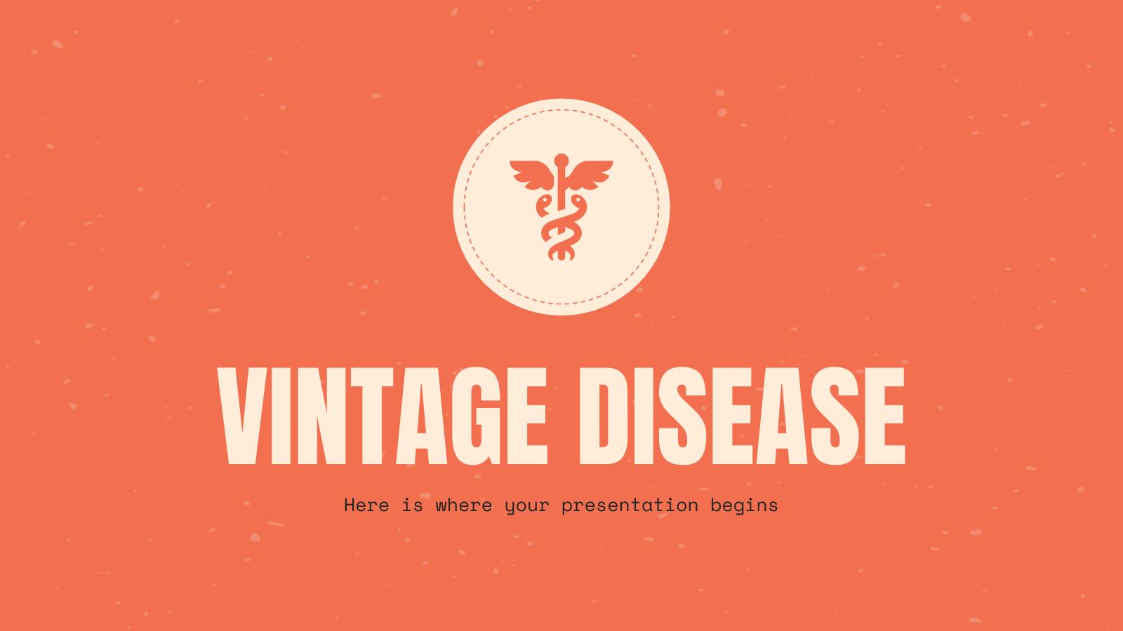 Maladie vintage : Modèles de présentation