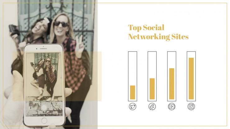New Year's Social Media Plan presentation template