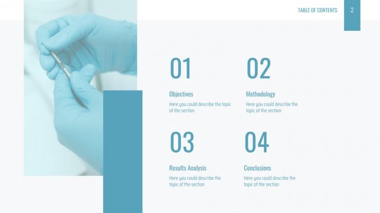 Formal Medical Advances presentation template