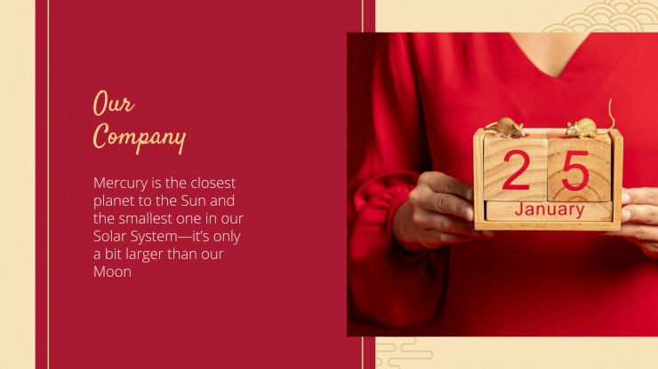 Chinese New Year Marketing Campaign presentation template