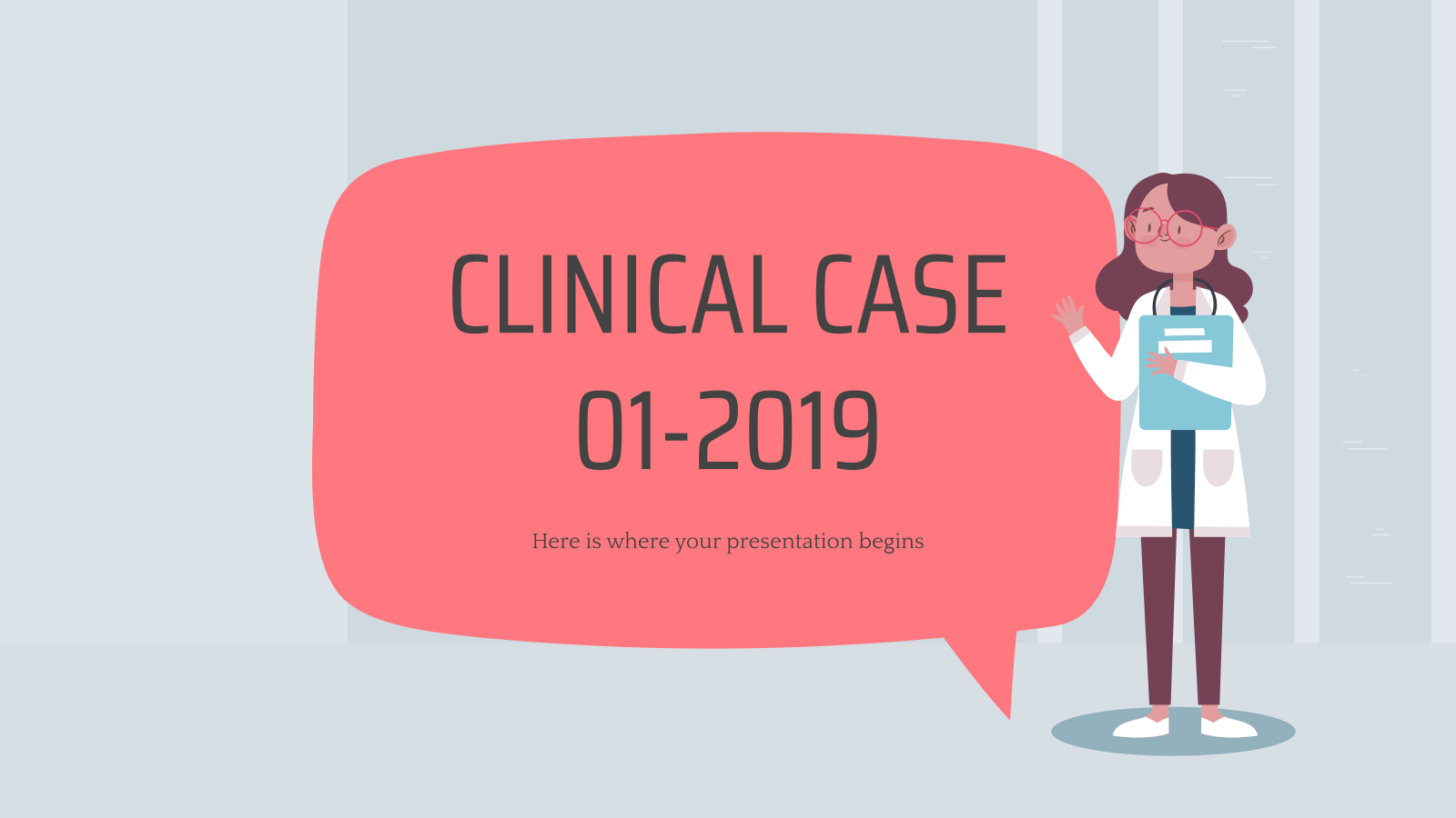 Clinical Case 01-2019 presentation template