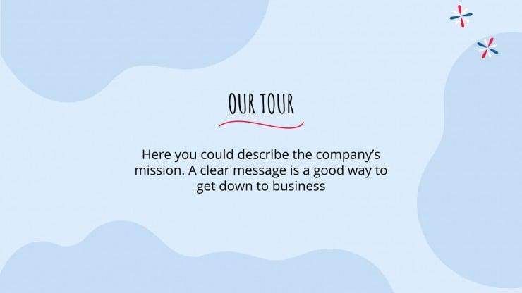Chile Travel Tour presentation template