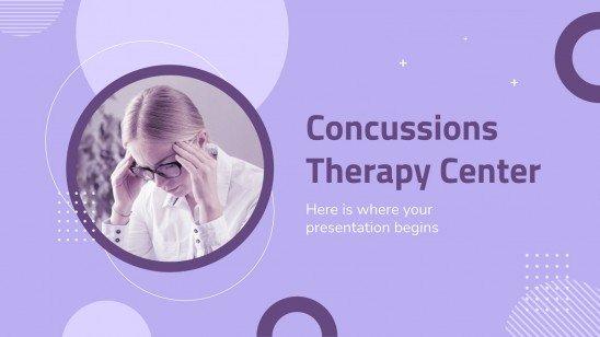 Concussions Therapy Center presentation template