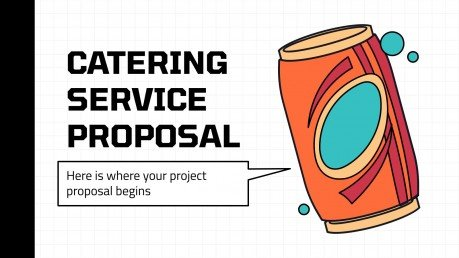 Catering Service Proposal presentation template