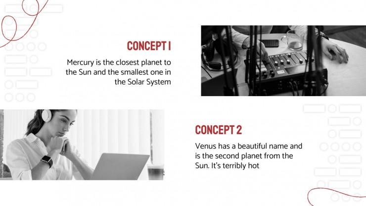 Morse Code Day presentation template