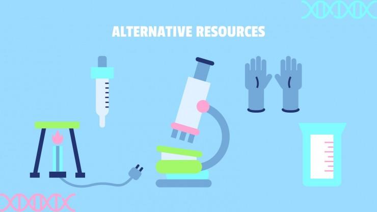 Les matériaux et les microscopes ! : Modèles de présentation