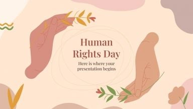 Human Rights Day presentation template