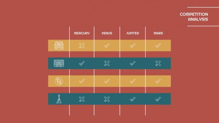 Vinyl Shop Plan presentation template