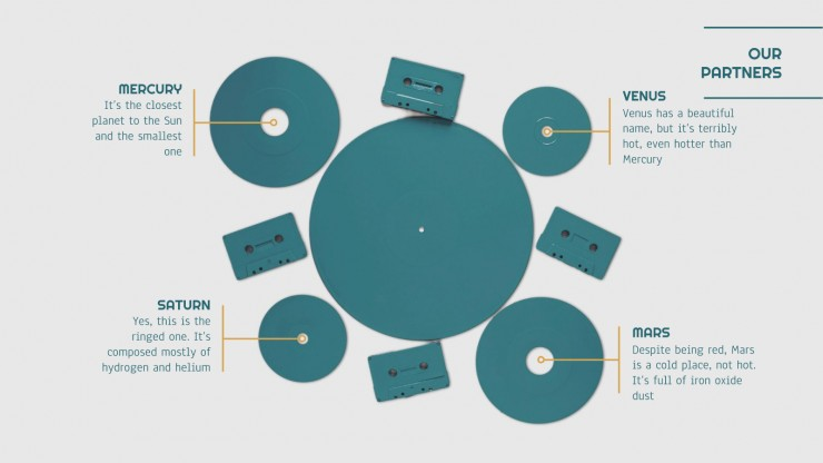 Vinyl Shop Plan presentation template
