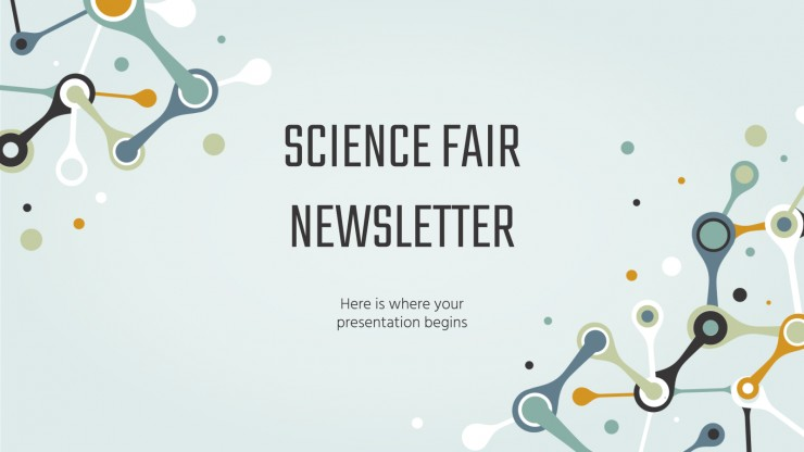Science Fair Newsletter