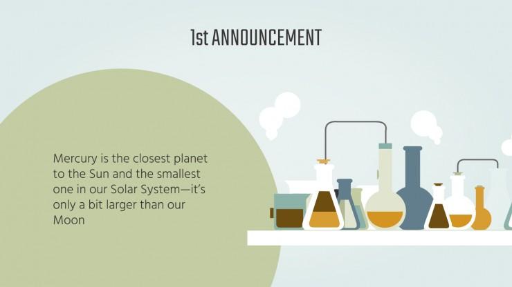 Newsletter pour la foire aux sciences : Modèles de présentation