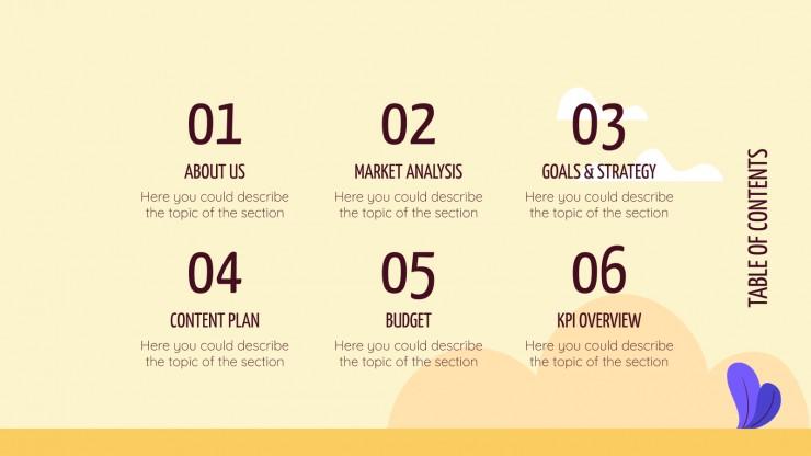 Campagne du Yellow Day : Modèles de présentation