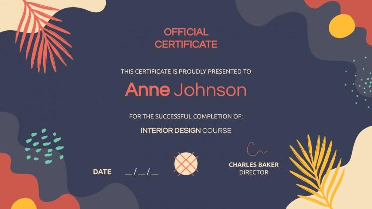 Certificat Mutural : Modèles de présentation