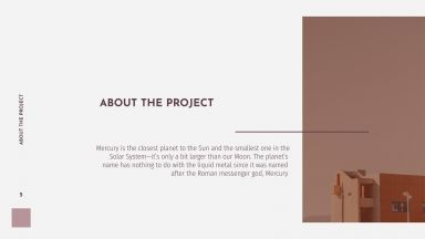 Modern Building Project presentation template